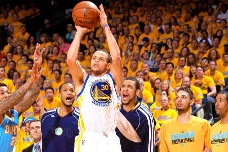 Sweet Shooting Runs in Stephen Curry's NBA Family