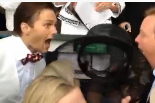 Kentucky Derby 2013 Video: Watch Tom Brady Celebrate Orb's Win