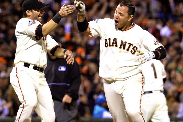San Francisco Giants' 2nd Consecutive Walk-Off Home Run Has Familiar Feel to It