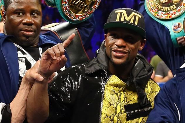 Floyd Mayweather Must Face Saul 'Canelo' Alvarez in Next Bout