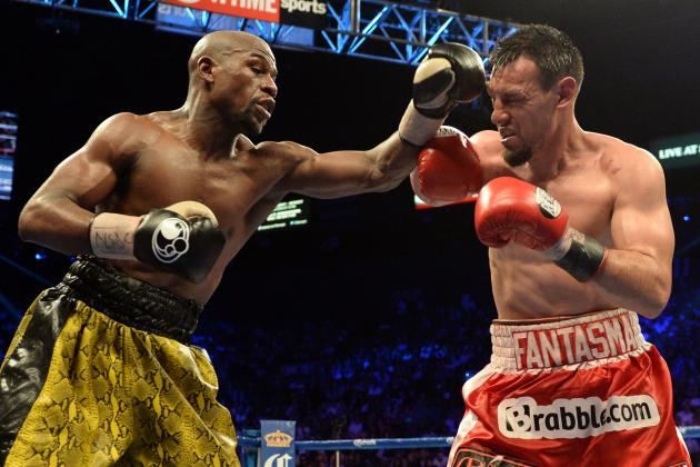 Mayweather vs. Guerrero Replay: Where to Watch Second Showing of Fight