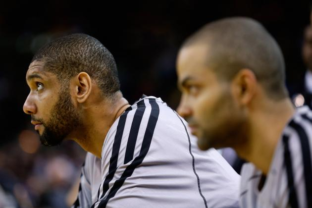 Parker 6th, Duncan 7th in MVP Voting