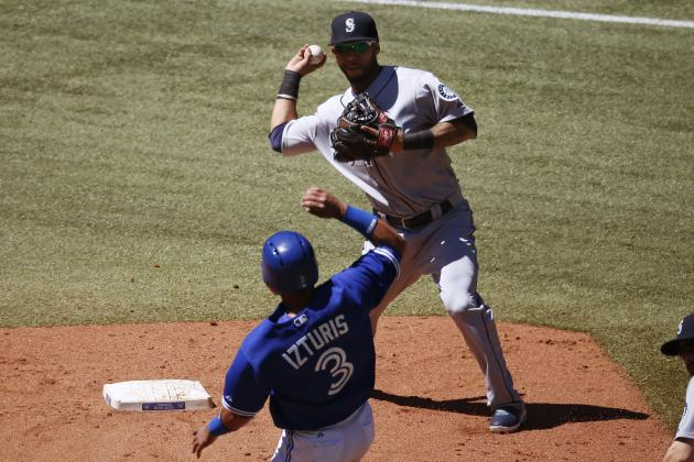 Blue Jays 10, Mariners 2