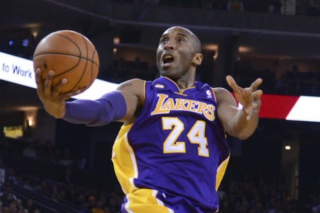 Kobe Bryant Finishes Fifth in MVP Voting