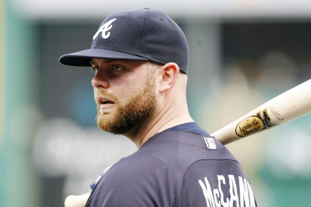 Braves' McCann Set to Come off DL Monday