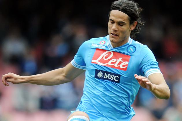 Serie A: Cavani Hat-Trick Sees off Internazionale