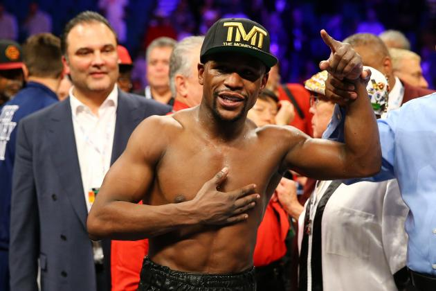 Floyd Mayweather Cements Status as World's Top Fighter in Return to Ring