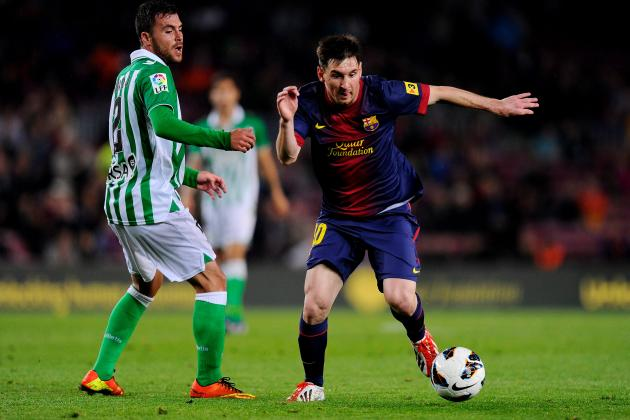 Barcelona 4-2 Real Betis: Messi Nets Brace