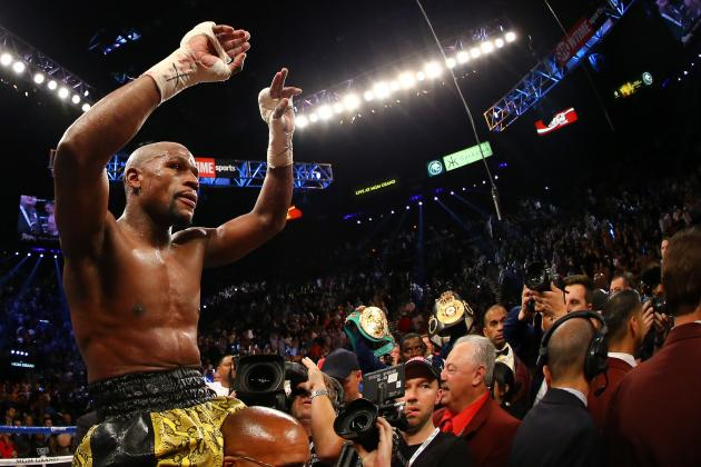 Mayweather vs. Guerrero Results: Fans Foolish to Be Upset with Late-Round Action