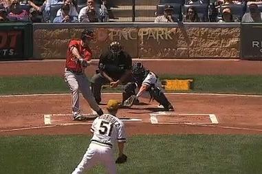 Harper Tossed By 3B Umpire