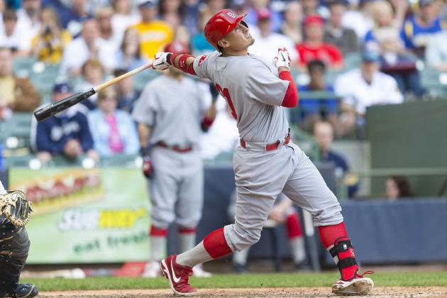 Cardinals 10, Brewers 1