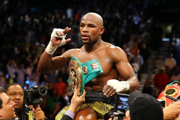Floyd Mayweather vs. Robert Guerrero Results: Money Secures Another Big Payday