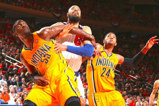 NBA Playoffs Live: Pacers vs. Knicks