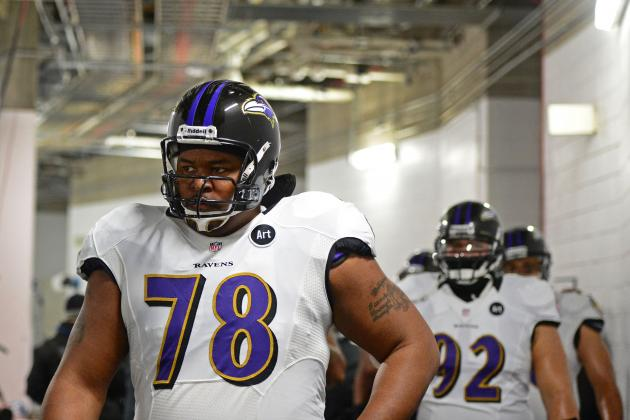 John Harbaugh Calls Bryant McKinnie's Return to Ravens a Big Plus