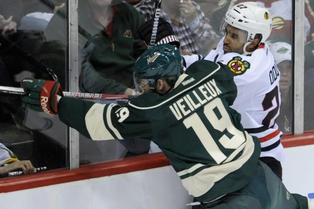 Wild 3, Blackhawks 2, OT