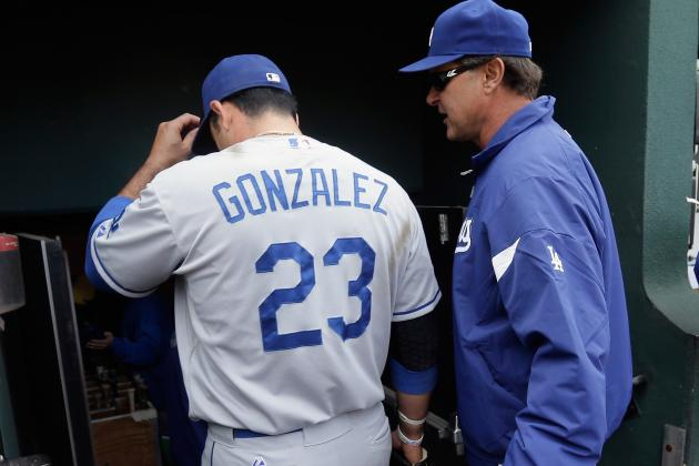 Gonzalez Not in LAD Lineup
