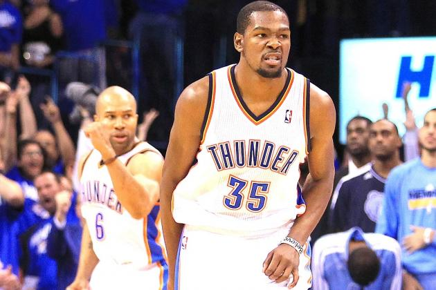 Kevin Durant Proving He Can Carry OKC Thunder to NBA Finals