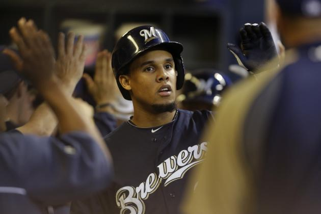 Teammates Carlos Gomez and Jean Segura in Top 5 for N.L. Batting Race