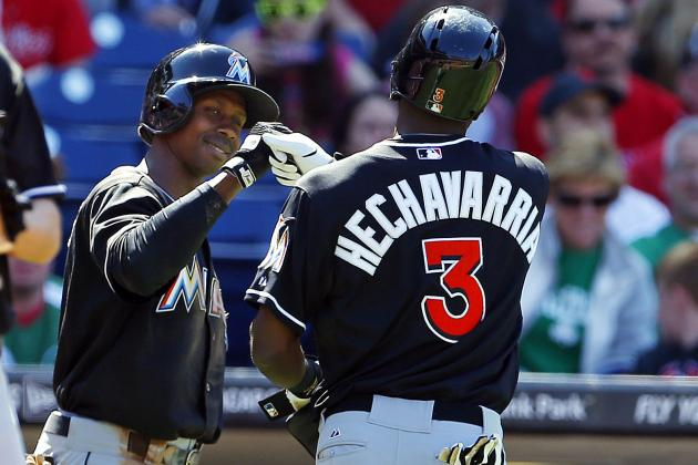 Adeiny Hechavarria Matches Team Record with 7 RBI