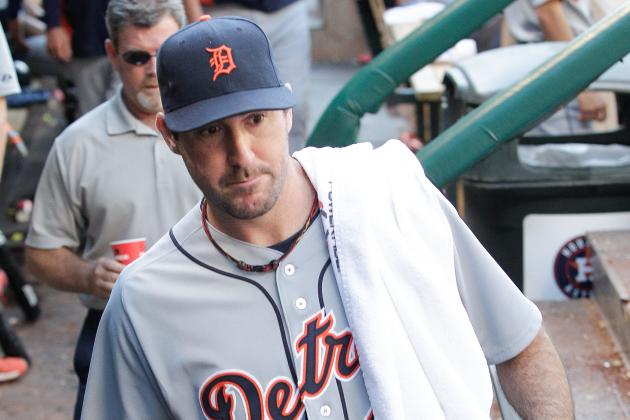 Gem from Justin Verlander, Four Home Runs Carry Tigers to 9-0 Win