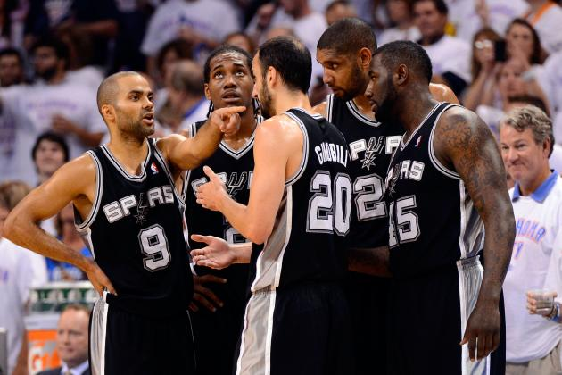 San Antonio Spurs Playoff Schedule: TV Info and Predictions for Second Round