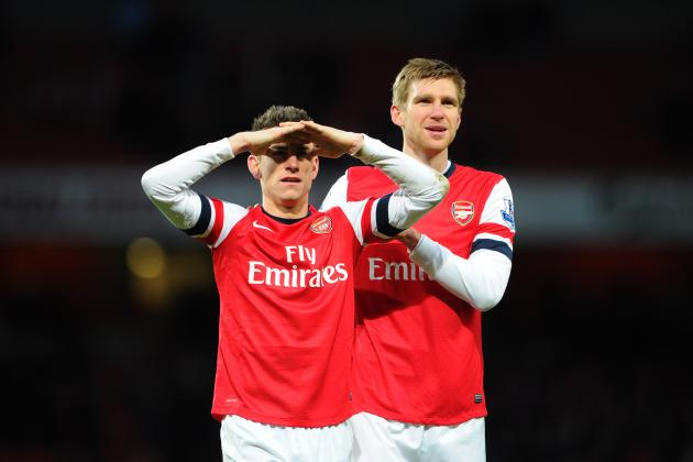 Arsenal: How Mertesacker and Koscielny Are Solution to Gunners' Defensive Issues