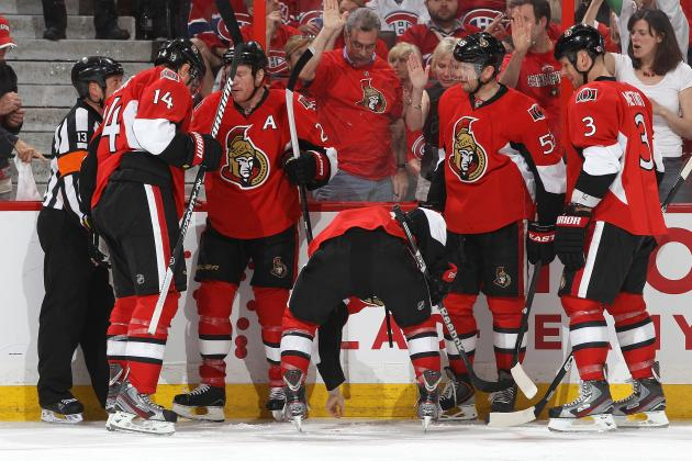 Sens' Pageau Gets Hat Trick in Fight-Filled Win