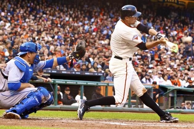 Pence Leads Giants to Complete Sweep of Rival Dodgers