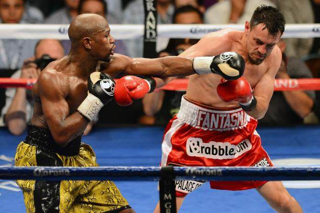 Mayweather vs. Guerrero Round by Round: Breaking Down Key Moments in Money's Win