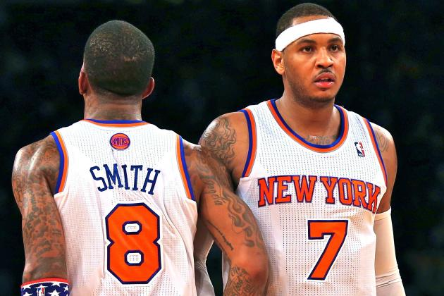 Carmelo Anthony, JR Smith Need a Wake-Up Call, and Woodson Must Deliver It