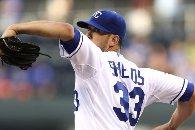 Royals Turn to Shields Monday to Finish Sweep of the White Sox