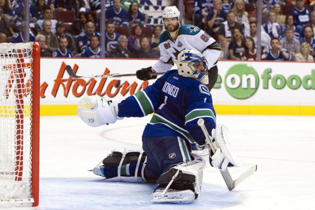 Canucks Chewed Up 5-2 by Sharks in Game 3