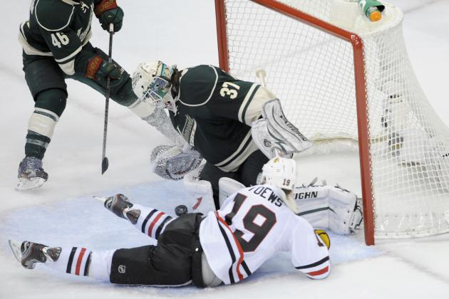 Chicago Blackhawks: Jonathan Toews and the Top Line Still Looking to Click