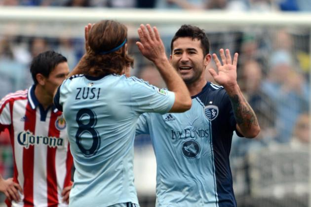 Sporting KC Celebrates Cinco De Mayo with Win over 10-Man Chivas USA