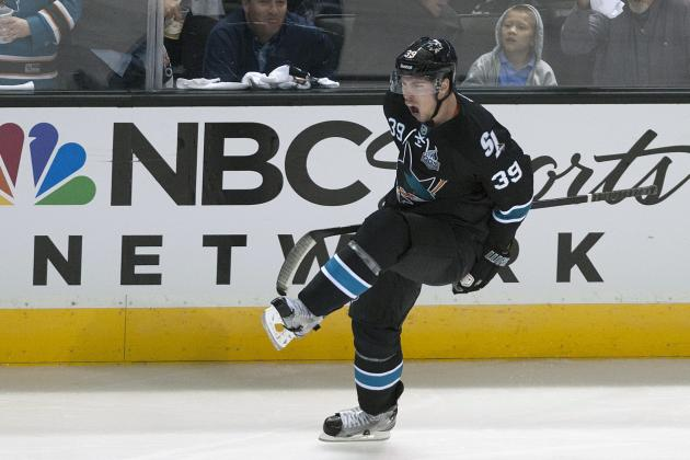 Couture, Stingy Defense Fueling San Jose Sharks' Domination of Canucks