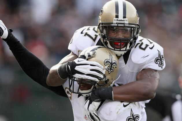 Saints' Malcolm Jenkins Welcomes First-Round Pick