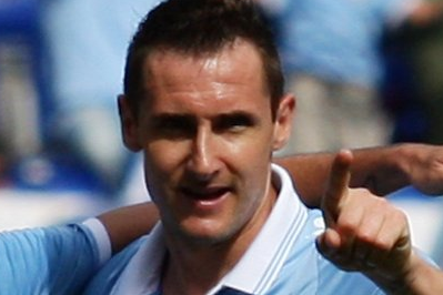Klose Hits Five in Lazio's 6-0 Win