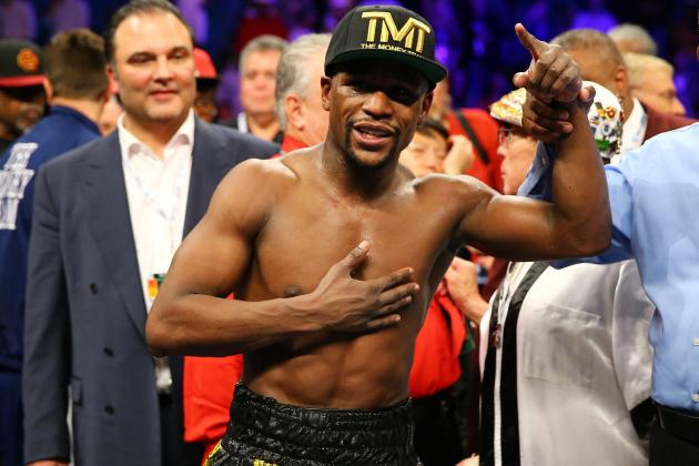 Mayweather vs. Guerrero Results: How Money's Hand Injury Altered the Fight