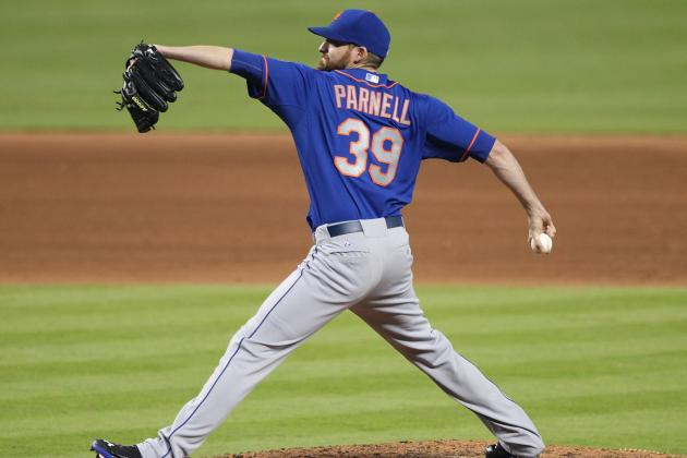 Surly Parnell Growing into Closer's Role