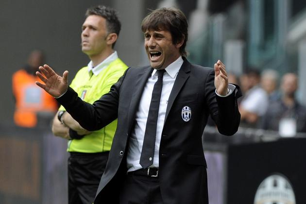 Serie A: Antonio Conte Ecstatic After Watching Juventus Retain Their Crown