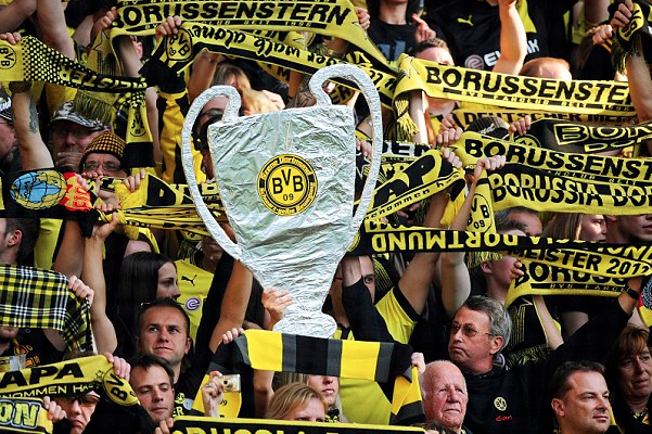 Dortmund Fans Go Mad for UCL Final as 500K Apply for Wembley Tickets