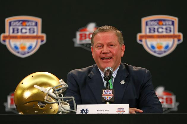 Brian Kelly No. 2 Among Coaches on Twitter
