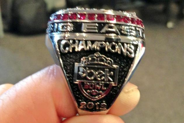 Photos: Cincinnati's Big East Championship Rings