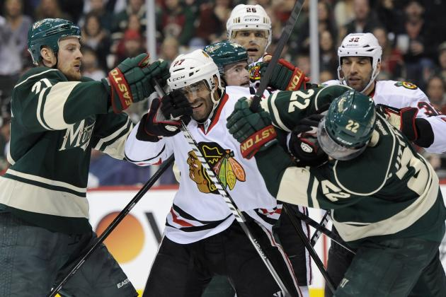 Chicago Blackhawks, Minnesota Wild Setting Tone for New Divisional Rivalry