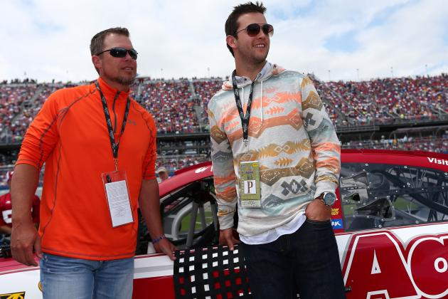 AJ McCarron Drives the Pace Car at NASCAR's Talladega Race