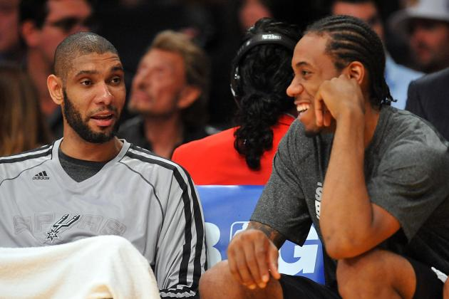 Leonard Emerging as Spurs' Newest Star
