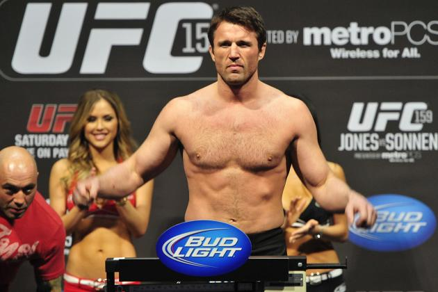 Chael Sonnen Continues to Push for 'Easy Fight' with 'Broke' Wanderlei Silva