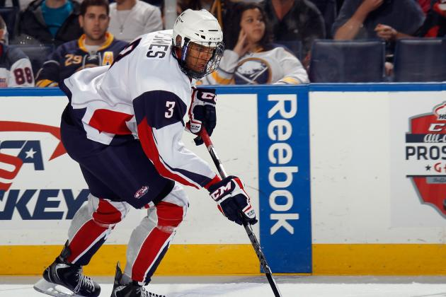 Seth Jones Ready for Life as Possible No. 1 NHL Draft Pick of Avs
