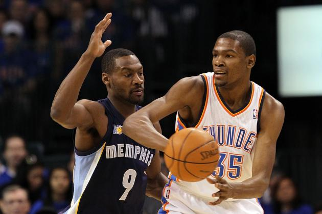 Tony Allen Wants to Guard Kevin Durant