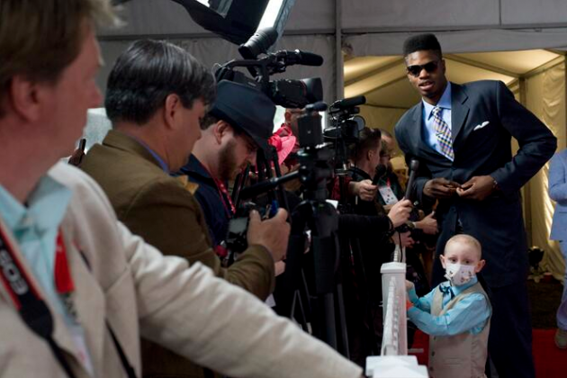 Nerlens Noel Brought Seven-Year Old Leukemia Patient to the Kentucky Derby
